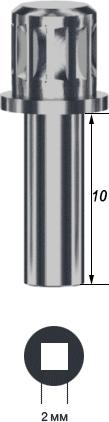 Имплантоввод для имплантатов Solo и SoloPlus длинный